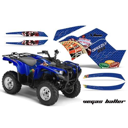 Графика для Yamaha Grizzly 550/700 (Vegas Baller)