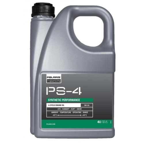 Масло моторное синтетика POLARIS PS4 PLUS 5W50 4л 502120 /502485